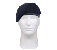 Rothco Inspection Ready Midnight Navy Blue Wool Beret 4979