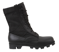 Rothco Black Cordura Nylon Speedlace GI Style Jungle Boots