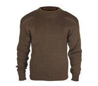 Rothco Brown Commando Sweater - 5415