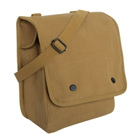Rothco Coyote Canvas Shoulder Bag - 5595