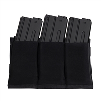 Rothco Lightweight 3Mag Elastic Retention Pouch - 5956