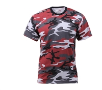 Rothco Red Camouflage T-Shirt - 6006