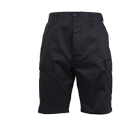 Rothco Black BDU Shorts - 65206