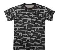 Rothco Multi Print Guns T-Shirt - 66350