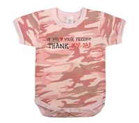 Rothco Infant Pink Camo One Piece - 67055