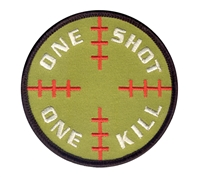 Rothco One Shot One Kill Patch - 72186