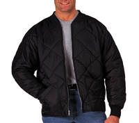 Rothco Black Diamond Quilted Flight Jacket - 7230
