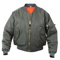 Rothco Kids Sage MA-1 Flight Jacket - 7310