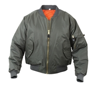 Rothco Sage Green MA-1 Flight Jacket - 7323