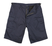 Rothco Navy Longer Style BDU Shorts - 7432