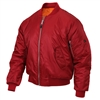 Rothco Red MA-1 Flight Jacket 7474
