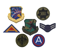 Rothco Assorted Military Patches - 7489