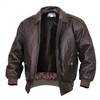Rothco Brown A2 Leather Flight Jacket - 7577