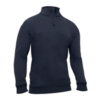 Rothco Midnight Navy Heavy Duty Zip Workshirt - 7750