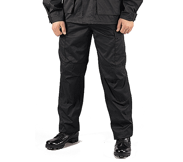 Rothco Black Military BDU Pants - 7971