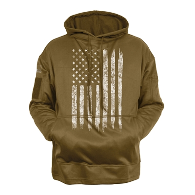 Rothco Distressed US Flag Sweatshirt - 8081