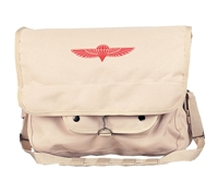 Rothco Khaki Canvas Israeli Paratrooper Bag - 8120