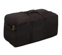 Rothco Black Assault Cargo Bag - 8133