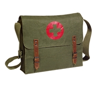 Rothco Olive Drab Canvas Nato Medic Bag - 8141