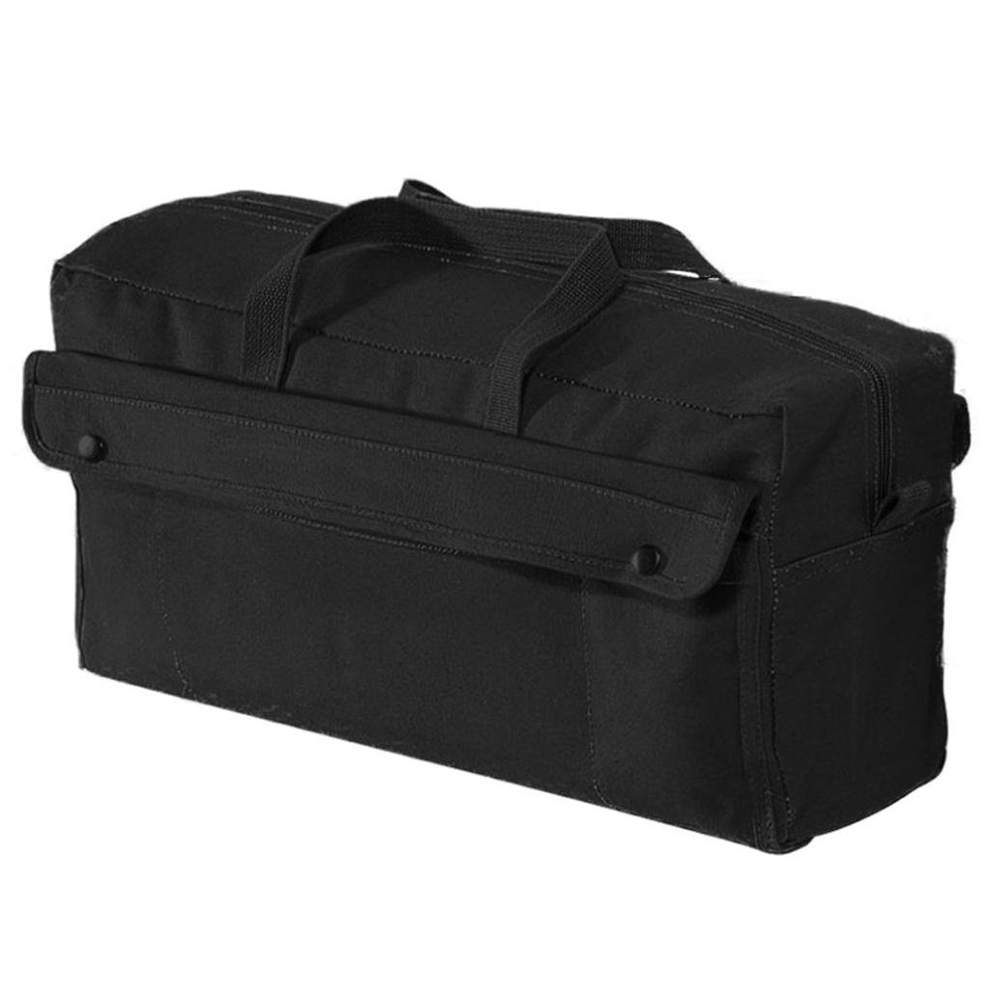 Olive Drab Rothco 7263 Canvas Jumbo Tool Bag With Brass Zipper