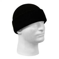 Rothco Black Wool Watch Cap - 8492