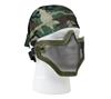 Bravo Tac Gear Strike Olive Drab Steel Half Face Mask - 857
