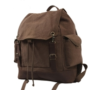 Rothco Brown Vintage Expedition Rucksack - 8709