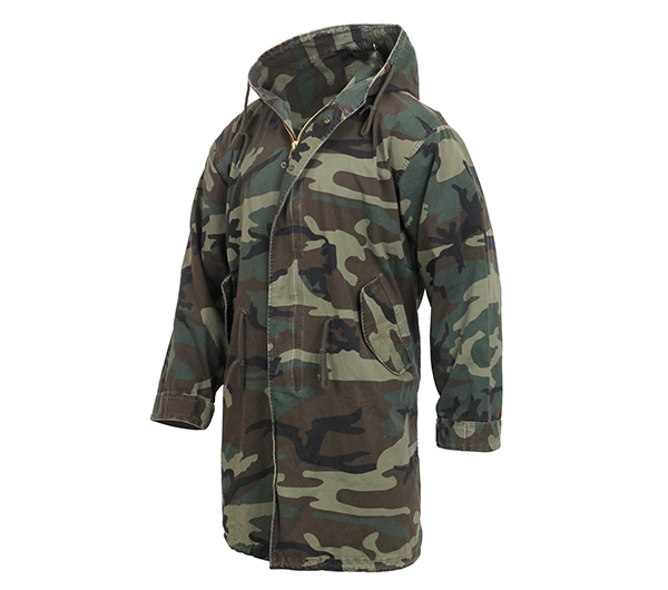 Camouflage Fishtail Parka