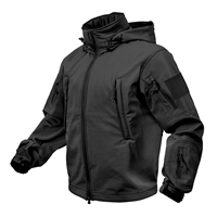 Rothco Black Special Ops Softshell Jacket - 9767