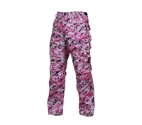Rothco Pink Digital Camo BDU Pants - 99650