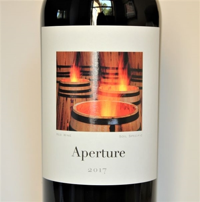 750ml bottle of 2017 Aperture Cellars Red Blend of Merlot and Cabernet Franc from the Alexander Valley of Sonoma County California