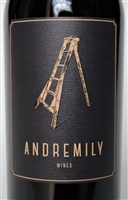 750ml bottle of 2015 Andremily Wines Syrah No.4 from Santa Barbara County on the Central Coast of California