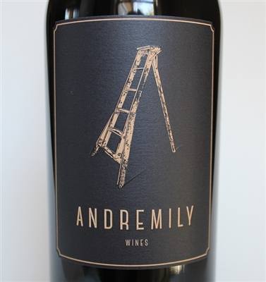 750ml bottle of 2016 Andremily Wines Syrah No.5 from Santa Barbara County on the Central Coast of California