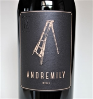 750ml bottle of 2017 Andremily Wines Mourvedre from Ventura California