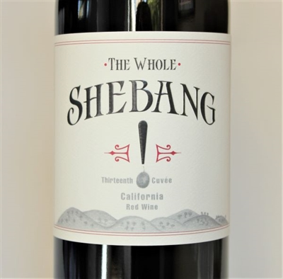 750ml bottle of California Red Blend The Whole Shebang by Bedrock Wine Co.