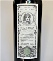 750ml bottle of 2016 Bond St. Eden red wine from Oakville AVA of Napa Valley California