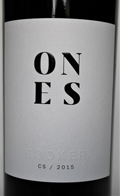 750ml bottle of red wine Cabernet Sauvignon by Booker Vineyards in Paso Robles California