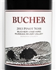 750ml bottle of 2013 Bucher Vineyard Pinot Noir from the Russian River Valley of Sonoma California