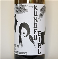 750ml bottle of 2018 Charles Smith Kung Fu Girl Riesling from the Columbia Valley of Washington State