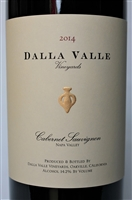 750ml bottle of 2014 Dalla Valle Estate Cabernet Sauvignon from the Oakville AVA of Napa Valley California