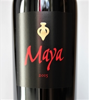 750ml bottle of 2015 Dalla Valle Maya from the Oakville AVA of Napa Valley California