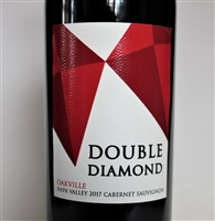 750ml bottle of 2017 Double Diamond Cabernet Sauvignon by Schrader Cellars in Oakville AVA of Napa Valley California