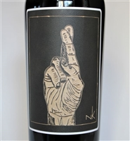 750ml bottle of 2017 Faethm Fingers Crossed Grenache red wine from Ventura County California