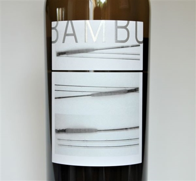 750ml bottle of 2018 Fulldraw Vineyard Bamboo white wine from Paso Robles California