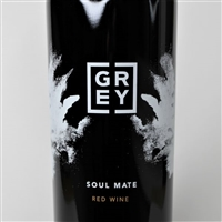 750ml bottle of 2018 Soul Mate GSM blend by Grey Wolf Barton Family Cellars from the Paper Street Vineyard in Willow Creek District AVA of Paso Robles California