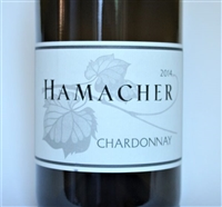 750ml bottle of 2014 Hamacher Chardonnay Cuvee Forets Diverses from the Willamette Valley of Oregon