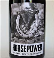 750ml bottle of 2016 Horsepower Syrah from The High Contrast in Walla Walla Valley of Washington State