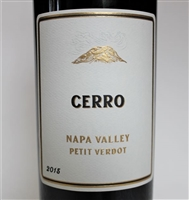 750ml bottle of 2015 Cerro Petit Verdot from Napa Valley California by JDB wines