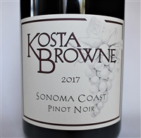 1.5L magnum of 2017 Kosta Browne Pinot Noir from the Sonoma Coast of California
