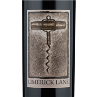 a 750ml bottle of 2018 Limerick Lane Zinfandel from the Russian River Valley of Sonoma County California